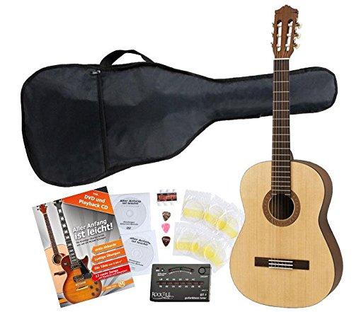 Yamaha C40 M Guitarra clásica de estudio (Incluidos funda, afinador y cuerdas)