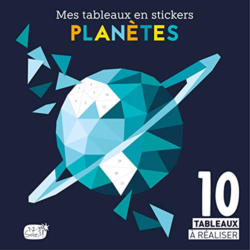 Mes tableaux en stickers - Planètes