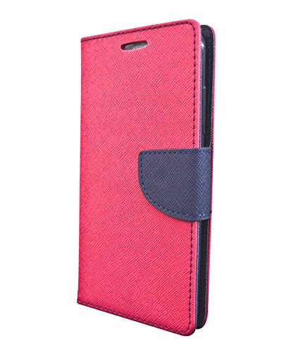 Flip Cover for Samsung On7 Pro - Pink:Blue