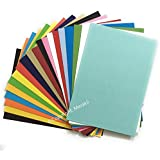 Merakii Coloured Cardstock Paper for Art and Craft, A4, 250 Gsm Thick - Pack of 40/60