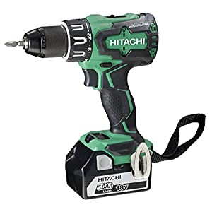 Hitachi 93256876 – Taladro combinado brushless 18 v 5.0 ah stackable 70 nw dv18dbsl