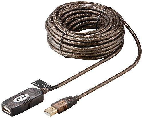 Preisvergleich Produktbild Aktives USB 2.0 Verlängerungskabel, 10m