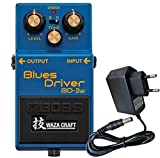 BOSS BD-R 2 W Blues Driver WAZA Craft Edition keepdrum Alimentation 9 V