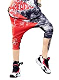 G.G.W Damen Jogginghose Hiphop Girl Graffiti Colourblock