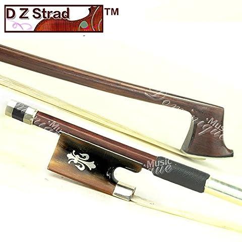 Prof. D Z Strad # 606modèle en fibre de carbone tressée Archet de violon Taille Complète 4/4-best cadeau pour ange 4/4-size