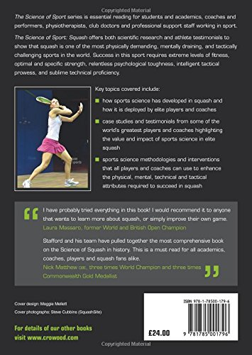 Zoom IMG-1 the science of sport squash