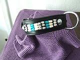 Indianer-Halsband 45cm superweices Echtleder