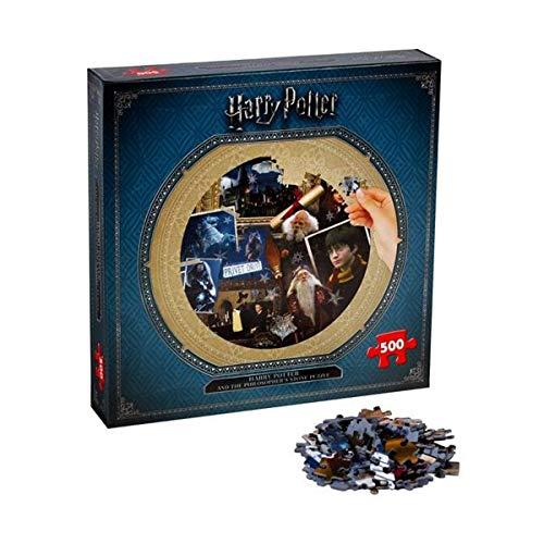 Winning Moves- Puzzle 500 Piezas Harry Potter Piedra