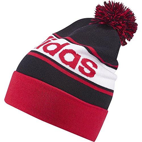 Adidas Linear Woolie Berretto, Rosso/Bianco (Rojray/Bianco/Rojray), OSFM