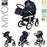 My Junior+® Miyo 3in1 Kombikinderwagen Komplettset