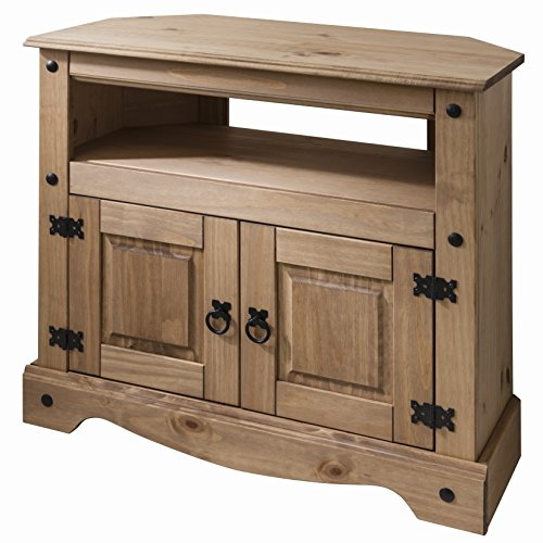 Wooden Tv Stand Corner Unit Cabinet Solid Wood Living Room Decor Sitting Room Decor