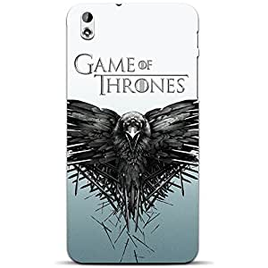 MiiCreations Game Of Thrones3D Printed Back Cover for HTC Desire 816