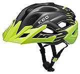 KED Status Helmet Junior Green Black Matt Kopfumfang S | 49-54cm 2018 Fahrradhelm
