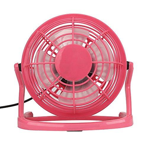 Desktop Ventilator Mini USB Computer Ventilator Lüfter 360 Grad Drehbar Fan Tischventilator