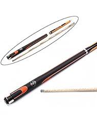 Jonny 8Ball queue de billard snooker 3pièces Orange Phantom–choisissez votre taille pointe
