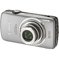 Canon Digital IXUS 200 IS Digital Camera - Silver (12.1 Megapixel, 5x Optical Zoom) 3.0 inch LCD