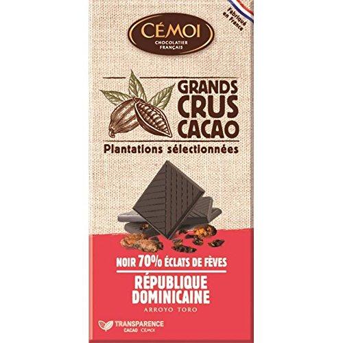 Cémoi - República Dominicana Negra 70% 3 Comprimidos De 100G - Noir  République Dominicaine 70 d017043d23f