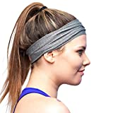 Red Dust Active Sport-Stirnband - Feuchtigkeitsableitend & Atmungsaktiv – Das ideale Schweißband zum Joggen, Radfahren, Yoga und mehr – für Damen und Herren