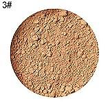 Cipria in Polvere clifcragrocl, pro trucco in polvere per il viso in polvere, fondotinta in polvere per il trucco - 3#