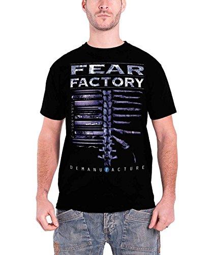 Fear Factory Demanfacture offiziell Herren Nue Schwarz T Shirt