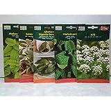 Semillas de plantas aromáticas. Pack 5 sobres