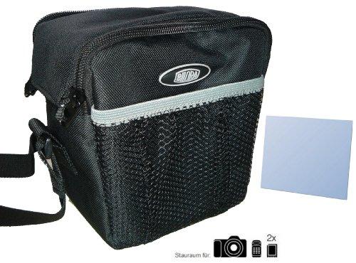 Zubehör Starterset für Samsung WB1100F - Kamera Tasche - mit passgenauer equipster Folie - Wb1100f Samsung Für Die Kameratasche