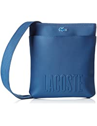 Lacoste NH2003MS, Sac Bandouliere Homme, Dark Blue, 29 x 2 x 26 cm