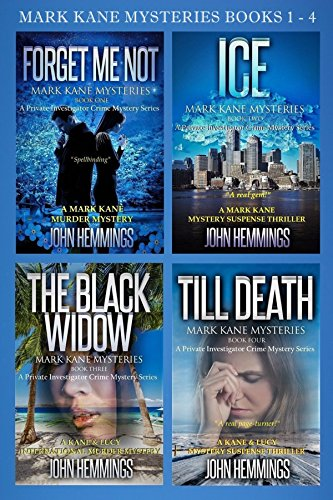 MARK KANE MYSTERIES: BOOKS 1 - 4: A Private Investigator CLEAN MYSTERY & SUSPENSE SERIES with More Twists and Turns than a Roller Coaster