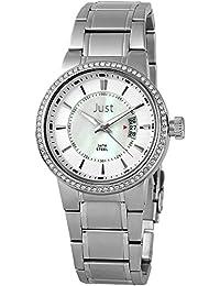 Just Watches Damen-Armbanduhr Analog Quarz Leder 48-S8265B-PL