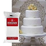 Pâte à Sucre couleur blanche 250 g Renshaw