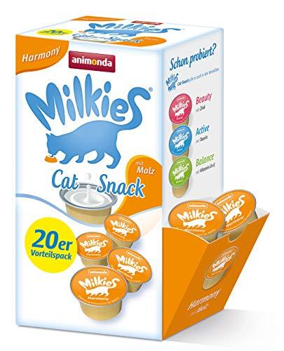 Animonda Milkies Multipack, Katzenmilch portioniert, Harmony, 20er Pack (4 x 300 g)