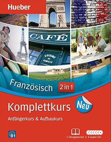 Komplettkurs Französisch Neu: Paket: 2 Übungsbücher + 6 Audio-CDs
