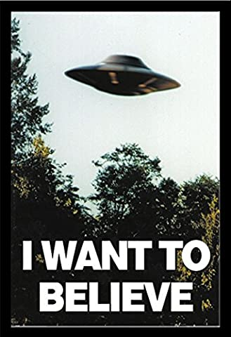 X-Files - I Want To Believe - UFO - Filmposter