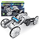 Mochoogle STEM 4WD Electric Mechanical Assembly Gift Toys Kit | Intro to Engineering, DIY Climbing Vehicle, Circuit Building Projects for Kids and Teens | DIY Science Experiments Using Real Motor