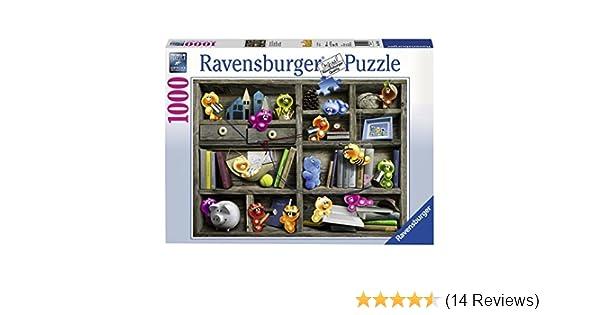 Puzzle 1000 Teile Spiel Deutsch 2017 Puzzles Geduldspiel Spieleabend bei den Gelini