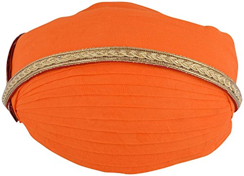 Shahi Safa Men's Cotton Turban (Orange)