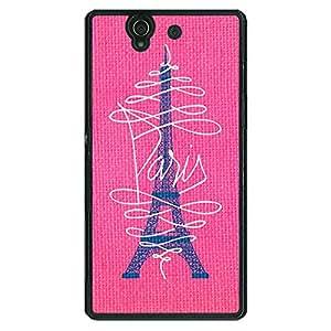 Jugaaduu Paris Love Back Cover Case For Sony Xperia Z