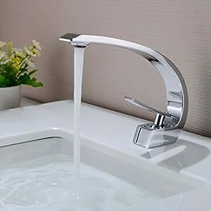 Bonade waschtischarmatur wasserhahn chrom bad armatur - Pflanzen furs bad ohne fenster ...