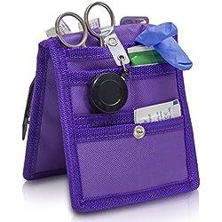 ELITE BAGS KEEN´S Krankenpflege-Organizer (12x15cm - versch. Farben) (violett)