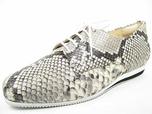 Hassia  301431-0400, Chaussures de ville à lacets pour femme Beige