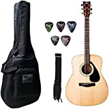 Yamaha F-310, Dreadnaught Acoustic Guitar With Bag, Belt & Plectrums Combo Pack.