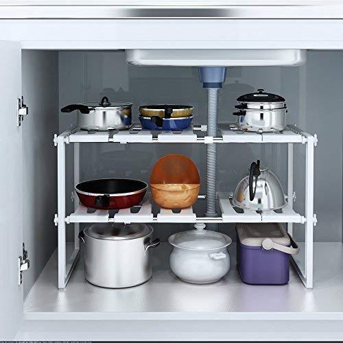 r Waschbecken Ablage Aufbewahrung Organizer Küche Schrank ()