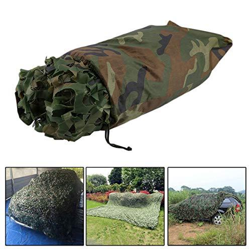 Ballylelly 4X5M de Gran tamaño de Caza al Aire Libre de Camuflaje Militar de la Selva Deja Netland Army Camo Netting Camping Sombra de la Cubierta