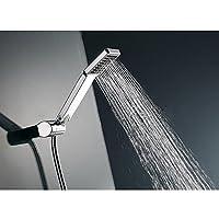 "Sedensy Shower Head Handheld Square High Pressure Shower Head, Woopower Rainfall Universal Hand Held Water Saving Bathroom Handshower(23.8 * 6.8cm/9.37""*2.68"")"