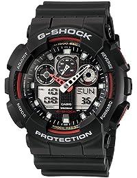 Casio G-Shock Analog-Digital Black Dial Men's Watch - GA-100-1A4DR (G272)