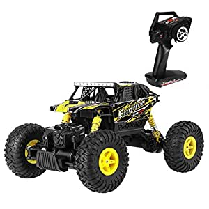 metakoo rc voiture t l command 4x4 v hicules tout terrain 4wd chelle 1 18 2 4 ghz remote. Black Bedroom Furniture Sets. Home Design Ideas
