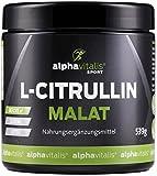 L-Citrullin Malat Pulver + Magnesium-Citrat - 539g - vegan - Fitness und Bodybuilding - Qualität made in Germany EINWEG