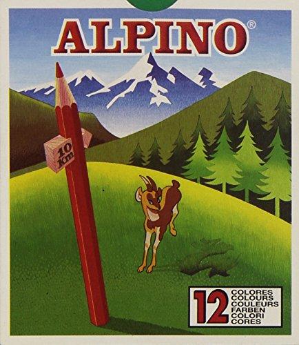 Alpino 652 – Estuche de 12 lápices de colores