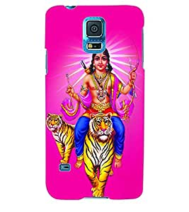 ColourCraft Lord Kartikeya Back Case Cover for SAMSUNG GALAXY S5 NEO