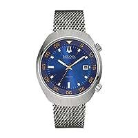Bulova Herren-Armbanduhr Lobster Analog Quarz Edelstahl 96B232